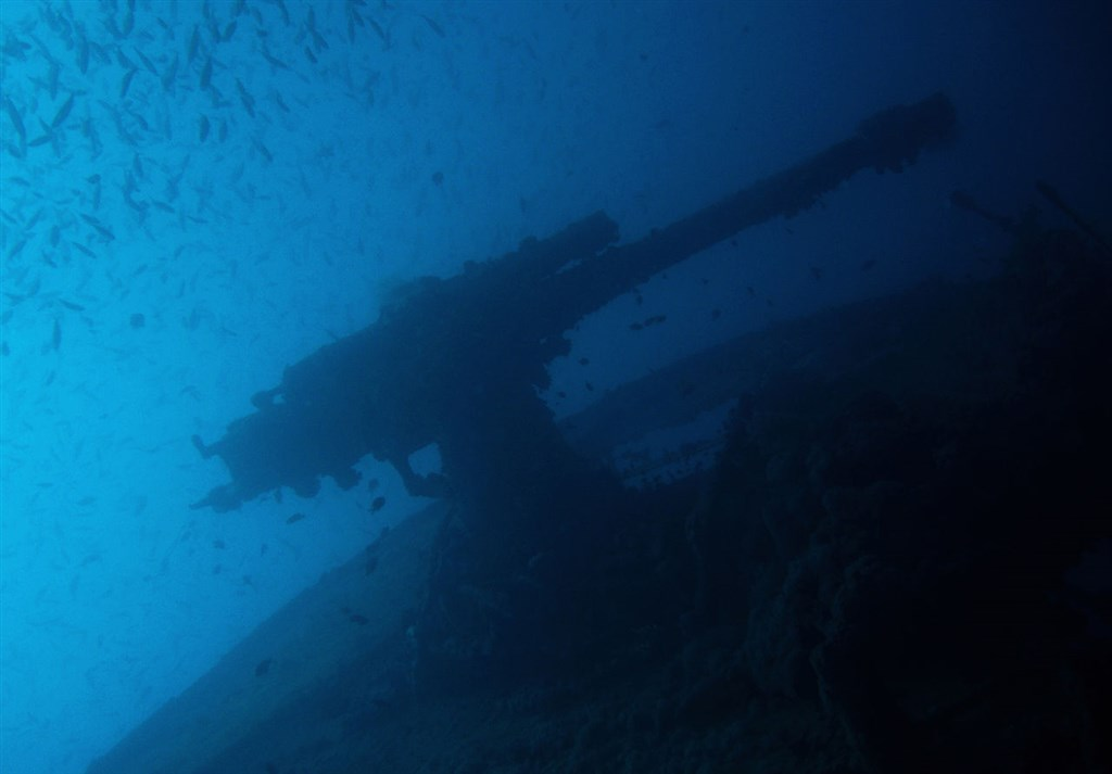 Scuba Diving Photo in Thistlegorm Wreck in Egypt