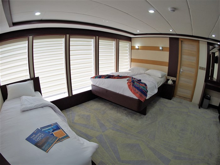 Double / Twin Cabin (upper deck)