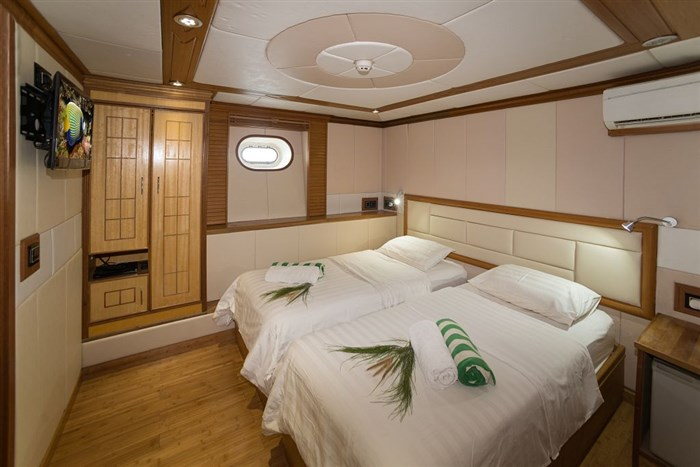 Main Deck Twin/Double Cabin