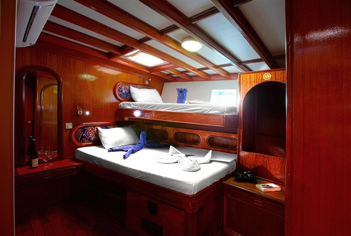 Lower Deck Twin/Double/Triple Cabin