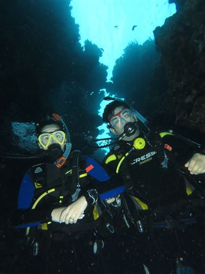 Scuba diving in Egypt