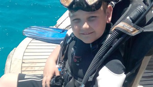 Scuba diving in Deep Dive Hurghada in Egypt