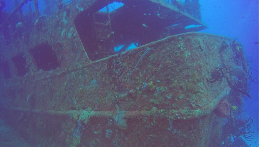 Scuba diving in MAMA VIÑA WRECK in Mexico