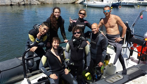 Scuba diving in Portugal
