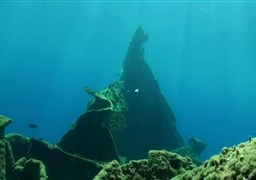 Buceo en A wreck in Oia (the big chimney) en Grecia