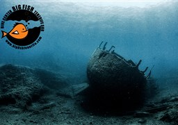 Scuba diving in el Condesito - wreck in Spain
