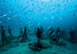 Scuba diving in Museo Atlantico in Spain