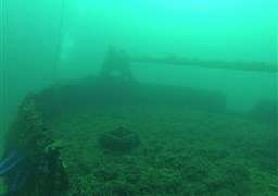 "Scuba diving in South Australian ""Dredge"" in Australia"