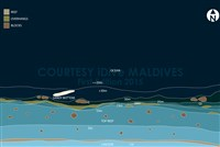 Dive site Mathi Faru plan
