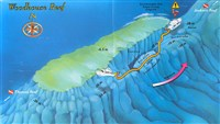 Dive site Woodhouse Reef plan